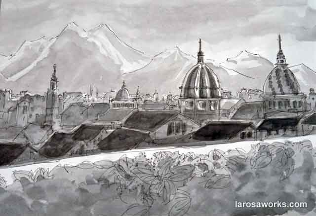 Drawing Light in Sicily images
