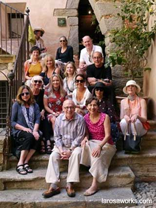 LaRosaWorks's clients touring Sicily