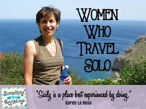 Women Who Travel Solo: Solo Trip to Sicily